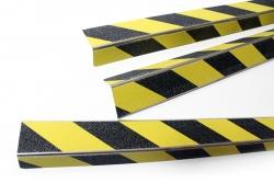 Profil na schody antypoślizgowy ostrzegawczy