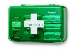 Dozownik z plastrami opatrunkowymi Cederroth Wound Care Dispenser Blue